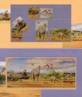 1993 SG1423-28/MS1429 Prehistoric Animals PP - Presentation Packs