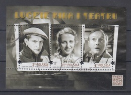 Poland 2017 Cinema Art Used Bl - 1944-.... Republic
