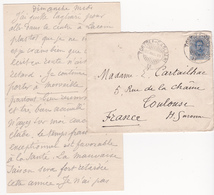 Timbre Sur Lettre Manuscrite D'Emile CARTAILHAC (1845-1921) - 1878-00 Humbert I