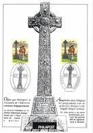 Ireland 1995 Mi. 897 Belgium Mi. 2652 FD Commemoration Document, Irish Soldiers, Battle Of Fontenoy - FDC