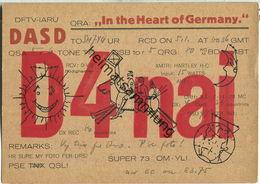 QSL - QTH - D4NAI - 1932 - Amateurfunk