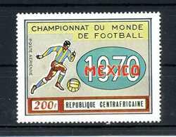 1970 REP. CENTROAFRICANA SET MNH ** PA - Repubblica Centroafricana