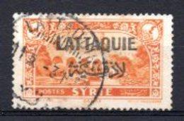 1931 LATTAQUIE 4 PIA. OVERPRINTED MICHEL: 14 USED - Oblitérés