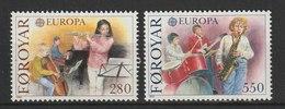 MiNr. 116 - 117 Dänemark Färöer / 1985, 1. April. Europa: Europäisches Jahr Der Musik. - Féroé (Iles)