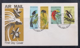 Papua New Guinea 1973 Birds Of Paradise FDC(ARAWA Cancellation) - Papouasie-Nouvelle-Guinée