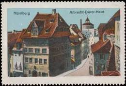 Reklamemarke: Albrecht-Dürer Haus - Erinnophilie