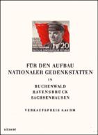 Germany DDR Bloc 8  Sans Gomme - Bloques
