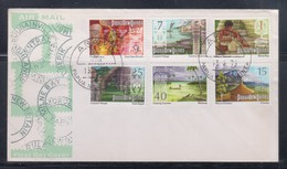 Papua New Guinea 1973 Panorama FDC(ARAWA Cancellation) - Papouasie-Nouvelle-Guinée