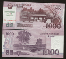 Korea North 1000 Won (2018) Pick NEW UNC - Corée Du Nord