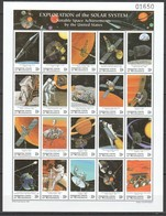 R730 MICRONESIA SPACE EXPLORATION OF THE SOLAR SYSTEM 1SH MNH - Space