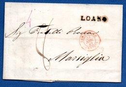 Lettre De Loano -  Pour Marseille -- 21 Nov 1942 - 1801-1848: Voorlopers XIX