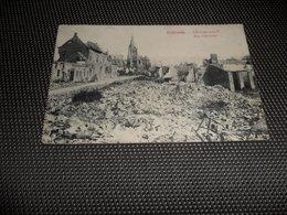 Dadizeele  Dadizele   Gheluwestraat  Rue Gheluwe   Oorlog  - Noodstempel BELGIQUE / BELGIE 7  1915 - Moorslede
