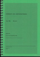 Nederland - R.J. Van Der Kuip - Overzicht Van Aantekenstroken - Type 1968 - Mercator - Bijgewerkt Tot En Met 31-12-2001 - Holanda