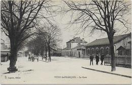 CPA - VITRY LE FRANCOIS - LA GARE - Vitry-le-François