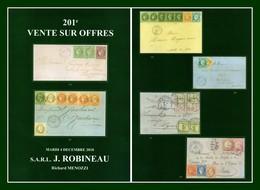 Catalogue 201éme Vente Sur Offres Robineau 4 Dec 2018 - Catalogues For Auction Houses
