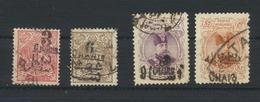 PERSIA Kingdom - IRAN  1903/4  4 Timbres Oblitérés - Iran