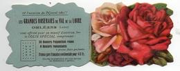 Calendrier De Poche 1931, Grandes Roseraies Du Val De La Loire Orléans 8,2 X 6,5 Cm - Calendars