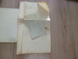 G.Blanchard Juriconsulte Français Du XVIIème 2 Documents Manuscrits - Manuscripts