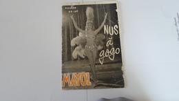PROGRAMME MAYOL  NUS A GOGO NUDE SAISON 1965 1966     ***   A   SAISIR **** - Programs