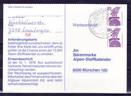 BRD, MiNr. 696 A; MeF Auf Portoger. Karte Von Owen / Teck Nach München; B-331 - [7] Federal Republic