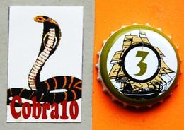 N°102  CAPSULE  Bière - Beer - Bier- Cerveza - Birra - Beer