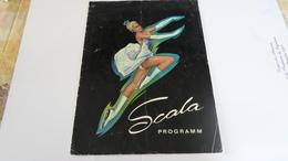 PROGRAMME SCALA  PATINS A GLACE   ***   A   SAISIR **** - Programs