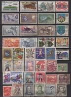 Tchécoslovaquie 88 Timbres Oblitérés Tous Différents - Czechoslovakia