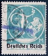 DEUTSCHES REICH 1920-21: Mi 133 / YT Bavière 210  /  Mi:DR 134II, Yt:DE-BY 211 Var - Oblitérés