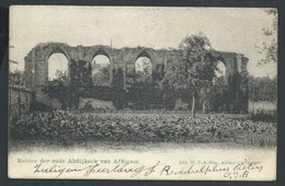 +++ CPA - Ruinen Der Oude Abdijkerk Van AFFLIGEM   // - Affligem