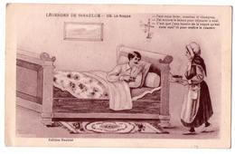 """3228- Cp Humoristique - """" Légendes De Saint-Saulge """" - La Nappe - N°105 - éd. Pautrat - - Humour"""