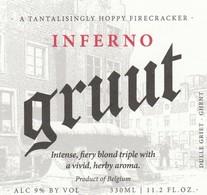 Etiket     Brouwerij  Gruut - Beer