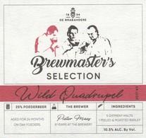Etiket     Brouwerij  De Brabandere - Bière