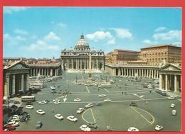Citta Del Vaticano, Piazza E Basilica Di S. Pietro; Vatikan - Vatican