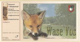 Etiket         Wase  Vos - Beer