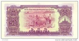 LAOS P. 22b 50 K 1968 UNC - Laos