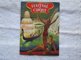 Programme (festival Du Cirque ) Amar - Livres, BD, Revues