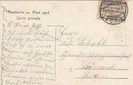 CP Avec Vignette Soldatenbrief Obl STRASSBURG / * (ELS) 2 J Du 13.5.07 Adressée à Lörrach - Marcophilie (Lettres)