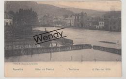 Aywaille (hotel Du Casino - L'Amblève 10/2/1909) - Aywaille
