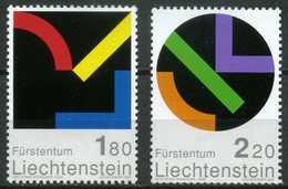 Liechtenstein - 2001 - Tableaux - Gottfried Honegger - Neufs - Modern