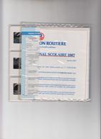 CONCOURS NATIONAL SCOLAIRE 1987 DE LA PRÉVENTION SCOLAIRE - 9 DIAPOSITIVES - Altri