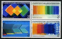 Liechtenstein - 1998 - Tableaux - Heinz Mack - Neufs - Modern