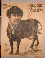 MUSEO DEGLI ORRORI  MUSEE DES HORREURS  Di V. LENEPVEU N.11 LA DAME BLANCHE - Vecchi Documenti