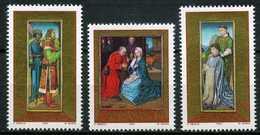 Liechtenstein - 1989 - Détails Du Triptyque - Adoration Des Rois Mages - Hugo Van Der Goes - Neufs - Religious