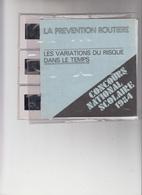 CONCOURS NATIONAL SCOLAIRE 1984 - LA PREVENTION ROUTIERE - LES VARIATIONS.... - 9 DIAPOSITIVES - Other