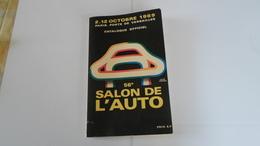 56 EME SALON DE L AUTO   CATALOGUE OFFICIEL   2 12 OCTOBRE 1969    **** RARE        A SAISIR ******* - Auto