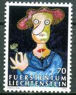 Liechtenstein - 1997 - Tableau - Enrico Baj - Neufs - Modern