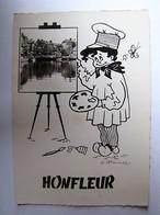 FRANCE - CALVADOS - HONFLEUR - Vue - Honfleur