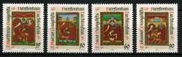 Liechtenstein - 1987 - Enluminures - évangélistes - Neufs - Religious