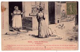 3231 - Cp Humoristique - Oeufs ... Frais Du Morvan - 1 : Préliminaires - G.Gervais édit. - - Humour