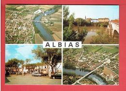 ALBIAS 1981 CARTE EN TRES BON ETAT - Albias